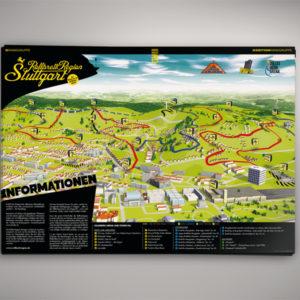 Rollbrettregion Stuttgart Killesberg-Arena – Plakat