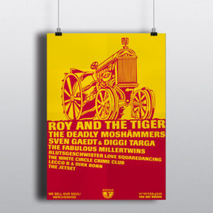 180 bei NässeRoy and the Tiger – Plakat