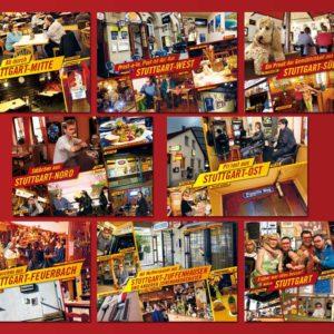 Schräggastro Postkarten Set 8 Stück