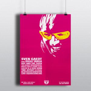 180 bei NässeSven Gaedt (& Diggi Targa) – Plakat