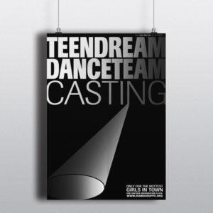 180 bei NässeTeendream Danceteam –Plakat